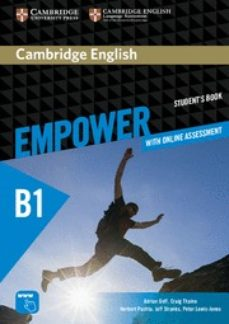 Libros gratis en línea gratis sin descarga CAMBRIDGE ENGLISH EMPOWER PRE-INTERMEDIATE: STUDENT S BOOK WITH ONLINE ASSESSMENT AND PRACTICE, AND ONLINE WORKBOOK (Literatura española) de