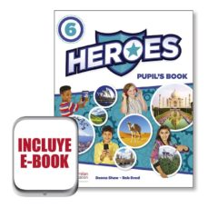 Descargar kindle books a la computadora gratis HEROES 6 PUPIL´S BOOK  EBOOK PACK 9781380008572 de  FB2 RTF