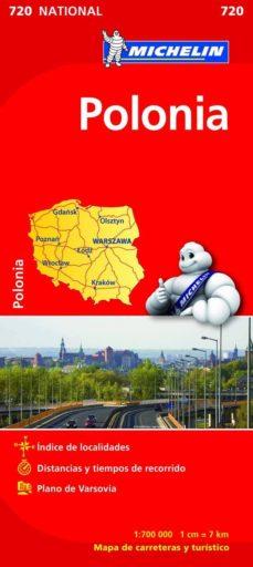 polonia 2012 (1:700000) (ref. 720) (mapa national)-9782067171572
