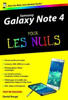 samsung galaxy note 4 poche pour les nuls (ebook)-daniel rougé-9782754073172