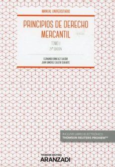 Descargar PRINCIPIOS DE DERECHO MERCANTIL, TOMO I gratis pdf - leer online