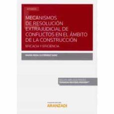Ojpa.es Mecanismos De Resolución Extrajudicial De Conflictos En El ÁMbito De La Construcción. Eficacia Y Eficiencia Image