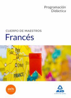 cuerpo de maestros frances: programacion didactica-9788414206072
