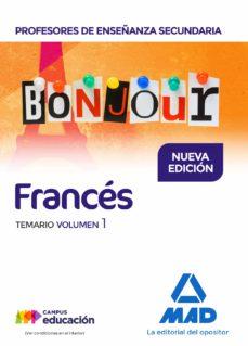 profesores de enseñanza secundaria frances: temario (vol. 1)-guillas laurence-9788414211472