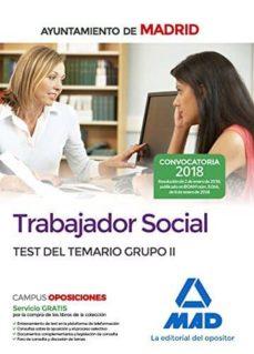 Javiercoterillo.es Trabajador Social Del Ayuntamiento De Madrid: Temario Grupo Ii Image