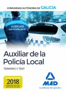 Srazceskychbohemu.cz Auxiliar De La Policía Local De La Comunidad Autónoma De Galicia. Temario Y Test Image