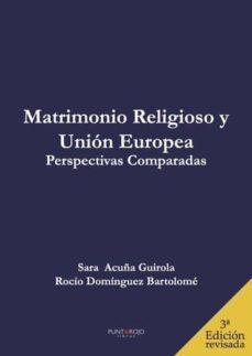 matrimonio religioso y unión europea. perspectivas comparadas (ebook)-9788417049072