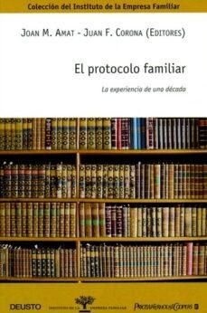 Inmaswan.es El Protocolo Familiar: La Experiencia De Una Decada Image