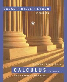 Bressoamisuradi.it Calculus (Vol. I): Una Y Varias Variables (4ª Ed.) Image