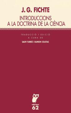 Bressoamisuradi.it Introduccions A La Doctrina De La Ciencia(catalán) Image