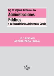 Permacultivo.es Ley De Regimen Juridico De Las Administraciones Publicas Y Del Pr Ocedimiento Administrativo Comun (13ª Ed.) Image