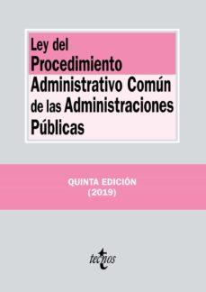 Curiouscongress.es Ley Del Procedimiento Administrativo Comun De Las Administraciones Publicas (5ª Ed.) Image