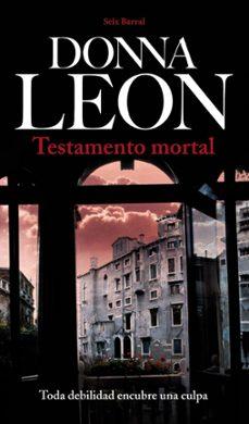 Libros descargables gratis para computadora TESTAMENTO MORTAL iBook FB2 CHM de DONNA LEON en español