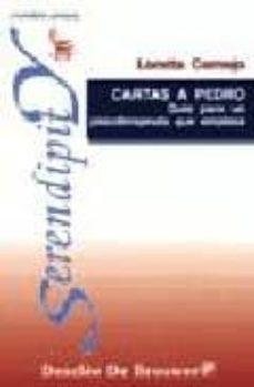 cartas a pedro, guia para un psicoterapeuta que empieza-loretta cornejo-9788433015372
