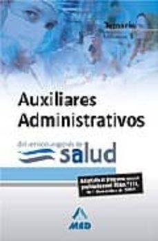 Viamistica.es Auxiliares Administrativos Del Servicio Aragonés De Salud. Temari O Vol. Iii Image