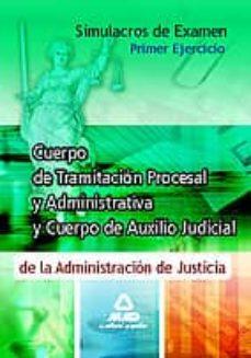 Viamistica.es Simulacros De Examen Para Los Cuerpos De Tramitacion Procesal Y A Uxilio Judicial De La Administracion De Justicia. Primer Ejercicio Image
