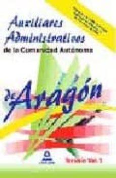 Valentifaineros20015.es Auxiliares Administrativos De La Comunidad Autonoma De Aragon. Te Mario Volumen I Image