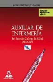 Geekmag.es Auxiliares De Enfermeria Del Servicio Gallego De Salud (Sergas). Temario De Materias Especificas. Volumen Ii Image