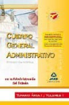 Permacultivo.es Cuerpo Administrativo De La Administracion Del Estado (Promocion Interna): Temario Area I. Volumen I Image