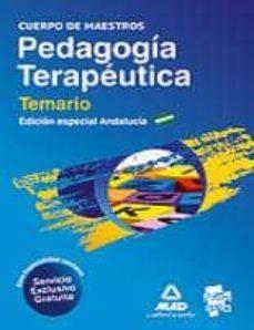 Inmaswan.es Cuerpo De Maestros. Pedagogia Terapeutica. Comunidad Autonoma De Andalucia. Temario Image