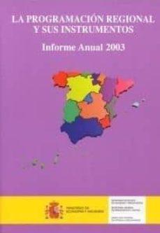 Valentifaineros20015.es La Programacion Regional Y Sus Instrumentos. Informe Anual 2003 Image
