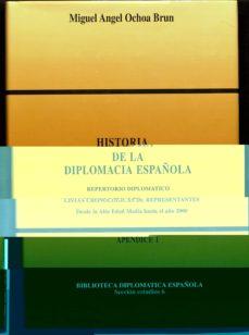 Vinisenzatrucco.it Historia De La Diplomacia Española (Apendice I): Repertorio Diplo Matico Listas Cronologicas De Representantes, Desde La Alta Edad Media Hasta El Año 2000 Image