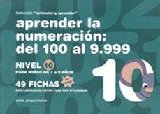 aprender 10(color)numeracion nivel de100-9999-jesus jarque garcia-9788498963472