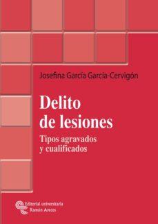 delito de lesiones (ebook)-josefina garcia garcia-cervigon-9788499619972