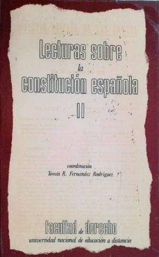 Costosdelaimpunidad.mx Lecturas Sobre La Constitución Española Ii Image