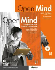 Descargar OPEN MIND PRE-INT STUDENTS BOOK & WORKBOOK   PACK gratis pdf - leer online