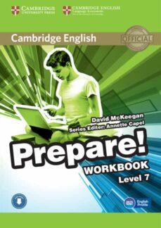 Rapidshare descargas gratuitas de libros CAMBRIDGE ENGLISH PREPARE! 7 WORKBOOK WITH AUDIO RTF PDF en español