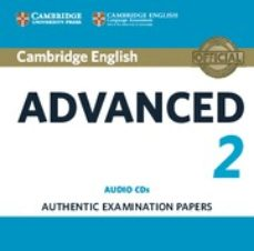 Libros gratis descargas de cd CAMBRIDGE ENGLISH ADVANCED 2 AUDIO CDS (2) 9781316504482 de  CHM iBook (Literatura española)