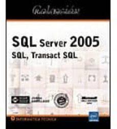 Titantitan.mx Sql Server 2005: Sql, Transact Sql (Recursos Informaticos) Image