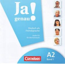 Descarga gratuita de audiolibros del Reino Unido JA GENAU! A2/1 BAND 1 WITH CD 9783060241682 de