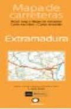 Cdaea.es Mapa De Carreteras Extramadura (1:300000) Image