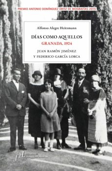 días como aquellos. granada, 1924-alfonso alegre-9788417453282