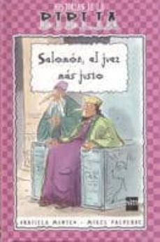 salomon, el juez mas justo-graciela montes-9788434872882