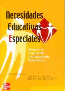 necesidades educativas especiales: manual de evaluacion e interve ncion psicologica en necesidades educativas especiales-9788448140182