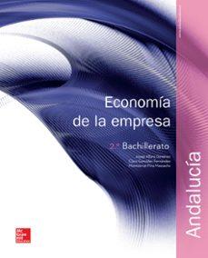 Inmaswan.es Economía De La Empresa 2º Bachillerato Andalucia (Ed 2016) Image
