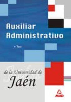 Carreracentenariometro.es Auxiliar Administrativo De La Universidad De Jaen:_test Image