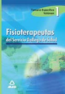 Ironbikepuglia.it Fisioterapeutas Del Servicio Gallego De Salud: Temario (Vol. I) Image