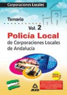 Bressoamisuradi.it Policia Local De Andalucia. Temario (Vol. Ii) Image