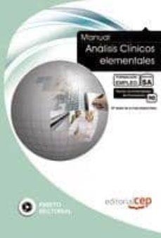 Geekmag.es Manual Análisis Clínicos Elementales. Formación Para El Empleo Image