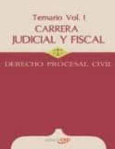 Ojpa.es Carrera Judicial Y Fiscal. Derecho Procesal Civil. Temario Vol. I Image