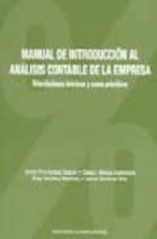 manual de introduccion al analisis contable de la empresa: orient aciones basicas y casos practicos-jesus et al. fernandez garcia-9788474917482