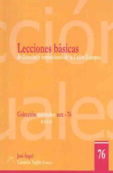 Costosdelaimpunidad.mx Lecciones Basicas De Derecho E Instituciones De La Union Europea Image