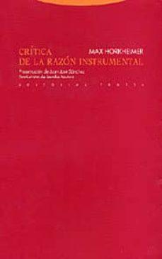 Inmaswan.es Critica De La Razon Instrumental (2ª Ed.) Image