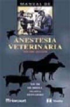 Carreracentenariometro.es Manual De Anestesia Veterinaria (2ª Ed.) Image