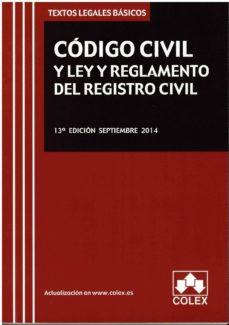 Viamistica.es Codigo Civil Y Ley Y Reglamentos Del Registro Civil Image