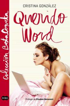 querido word-cristina gonzalez-9788483657782